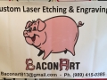 bacon art banner