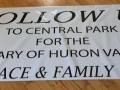 duck race banner