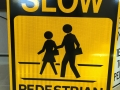 ped sign