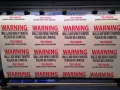 warning stickers